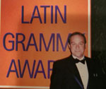 James Iafrati at the Latin Grammys
